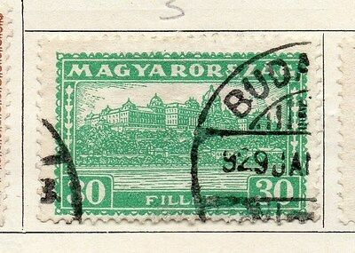 Hungary 1926 Early Issue Fine Used 30f. 087663