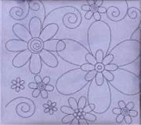 "Lilac Suede Flower 12X12"" Post Bound Scrapbook Album - Crafty Koala"