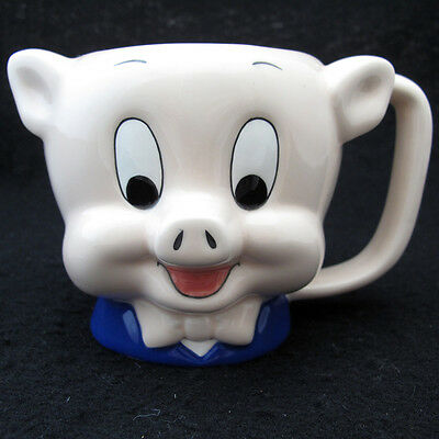Porky Pig Coffee Mug from Applause Warner Brothers 1989