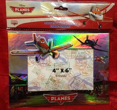 DISNEY PIXAR PLANES MAGNETIC PICTURE FRAME  4 X 6 NEW In Package DUSTY