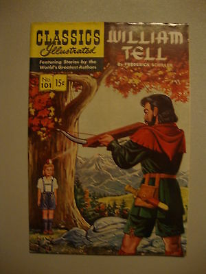 Classic Illustrated #101 VG- 1st PRT William Tell