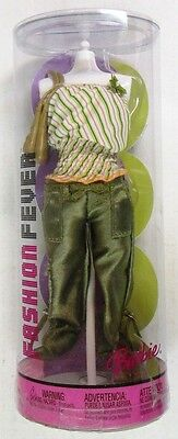 Fashion Fever Summer Green Ensemble and Accessory Pack G8991 (NEW)