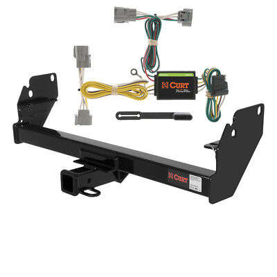 CURT Class 3 Trailer Hitch & Wiring for 2005-2015 Toyota Tacoma