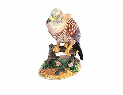 Red Kite Bird of Prey collectable enamel pill box Falconry Present Gift