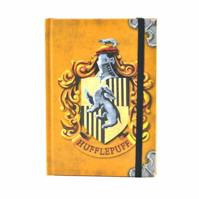 Harry Potter Hufflepuff A6 Notebook Journal Pad Book Lined Stationery Crest