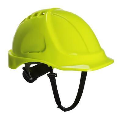 Portwest PS55 Endurance Vented ABS Workwear Chin Strap Hard Hat Helmet