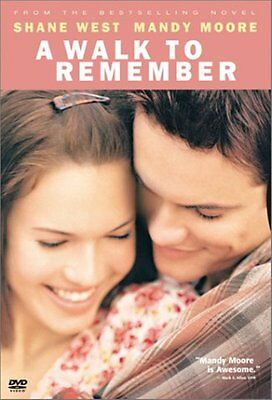A Walk to Remember (Widescreen DVD) Shane West, Mandy Moore **READ**