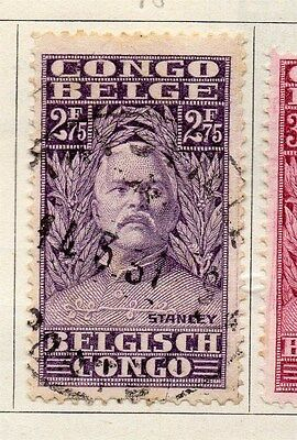 Belgian Congo 1928 Early Issue Fine Used 2.75F. 087878