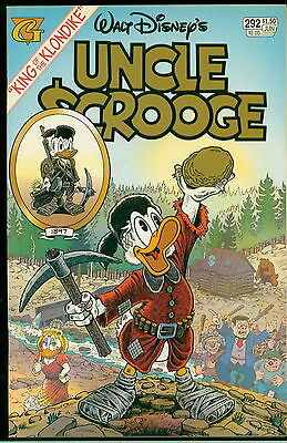 Uncle Scrooge Gladstone Comic #292, Don Rosa Life of Scrooge, NM