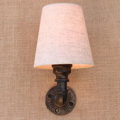 Vintage Industrial Loft Rustic Wall Sconce Wall Light Fixture Fitting 7879