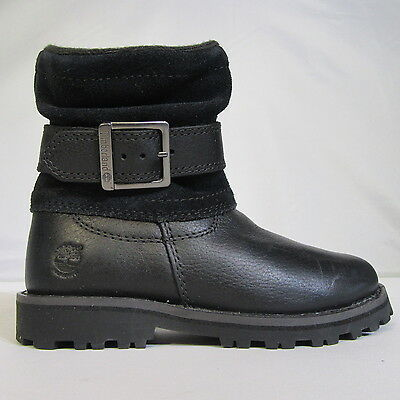 Junior Childrens Girls Kids TIMBERLAND Briarcliff Waterproof Leather Boots Shoes