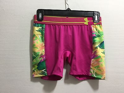 Under Amour youth girls size large compression shorts
