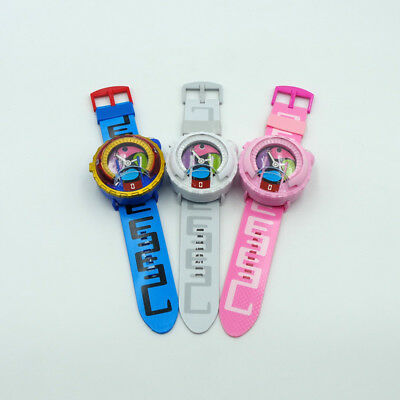 Anime Yokai Watch DX Yo-Kai Wrist Watch Kids Toy With 3 Medals Cosplay
