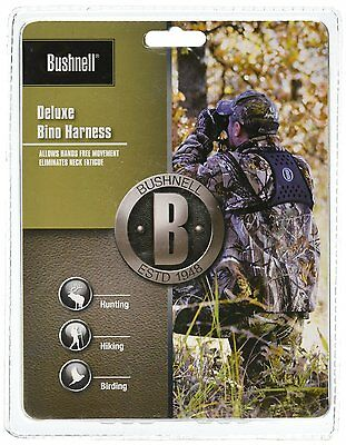 Bushnell Deluxe Binocular Harness, New, Free Shipping