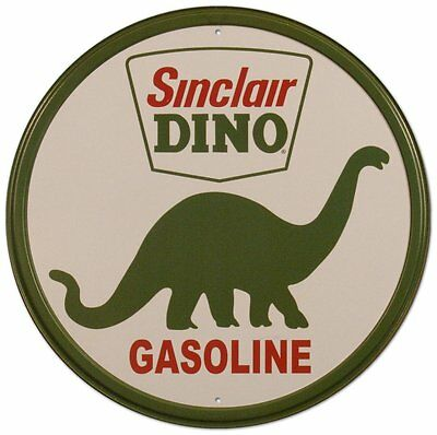 Sinclair Dino Gasoline Tin Sign 12 x 12in, New, Free Shipping