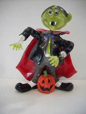 Halloween Jiggling Dracula figurine from Fitz & Floyd