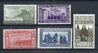 Francobolli 1926 Somalia It. S. Francesco Mnh Z/1806