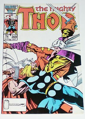 Thor #369 from July 1986 F- to F+
