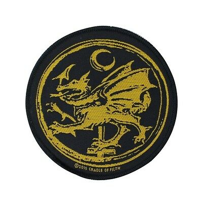 Cradle of Filth: Order of the Dragon Patch Band Official Fan Sew-On Applique