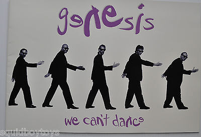 - GENESIS: We can't Dance Tour Program 1992 Phil Collins -