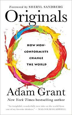 NEW Originals By Adam Grant Paperback Free Shipping