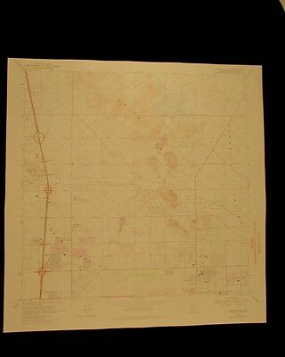 Union Hills Arizona vintage 1975 original USGS Topographical chart