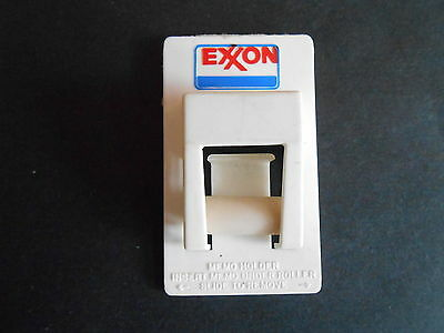 Vintage Exxon Oil and Gas Advertising Memo Holder