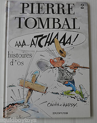 PIERRE TOMBAL #2 Histoires d'Os BD French Comic Book Dupuis