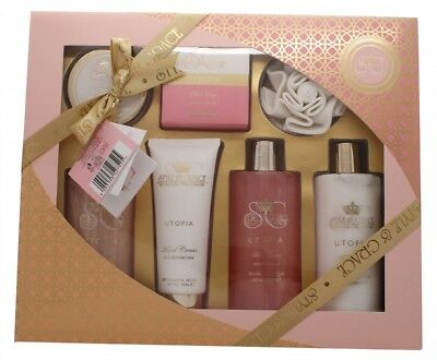 Style & Grace Utopia Bathing Experience Gift Set - 7 Pieces - Women's For Her