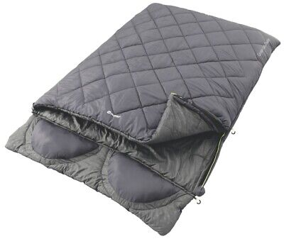 Outwell 3 Season Double Contour Lux Sleeping Bag Camping