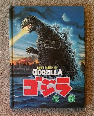 Legend of GODZILLA POPUP Book hardback children's picture storybook Pop up RARE