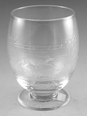 Thomas WEBB Crystal - Rare George Harry Pope Rock Crystal Tumbler