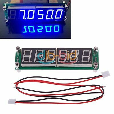 0.1MHz to 65MHz RF 6 Digit Blue Led Signal Frequency Counter Cymometer Tester ER