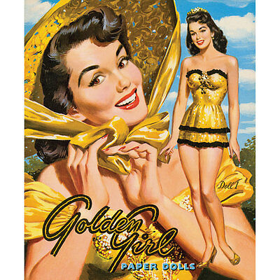 NEW Collectible Golden Girl Paper Dolls & 8-page Selection Of Night And Day Wear