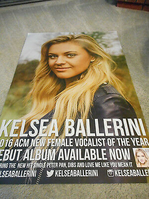 Hot! Kelsea Ballerini The First Time Promo Poster
