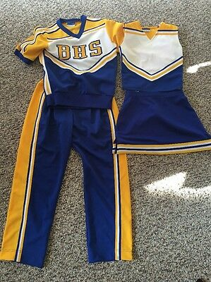 Couples Real Cheerleading Uniforms Sz8 Woman Size Med Men's