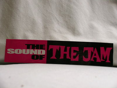 The Sound of THE JAM Interscope Polydor UNI 2003 promo only STICKER Paul Weller