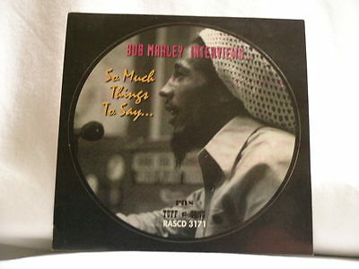 BOB MARLEY So Much Things To Say RAS/Tuff promo only STICKER