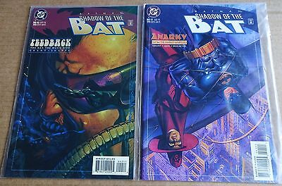 DC COMICS BATMAN SHADOW OF THE BAT  2 x NEW/UNREAD HIGH GRADE COMICS; #41, 42