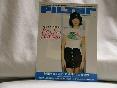 PJ HARVEY Uh Huh Her Island Records/Filter promo only POST CARD Polly Jean