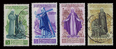 1948 Italy #489-92 St. Catherine Of Sienna - New & Used - Vf - Cv$28.00 (E#1415)