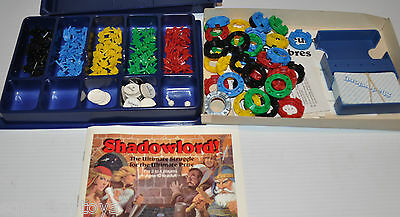 SHADOWLORD! Replacement PARTS & PIECES for Board Game 1983 Parker Brothers
