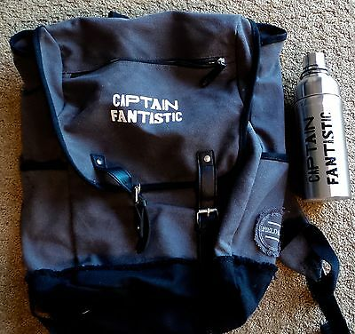 CAPTAIN FANTASTIC THERMOS BACKPACK PROMO PROMOTIONAL FIELD & CO HUDSON press kit