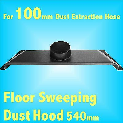 Floor Sweep Hood for 100mm Dust Extraction Hose Charnwood SIP Record extractor