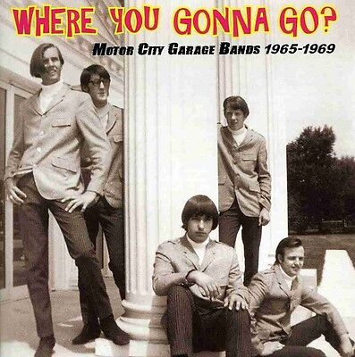 Various Artists - Where You Gonna Go: Motor City Garage Bands / Various [New CD]