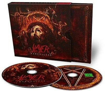 Slayer - Repentless [New CD] With DVD, 2 Pack, Digipack Packaging
