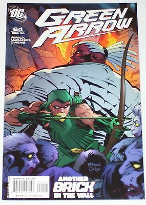 Green Arrow #64 from Sep 2006 F+ to VF-