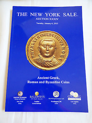 New York Sale Auction XXXIV Ancient Greek Roman Byzantine coins Catalog Jan 2015