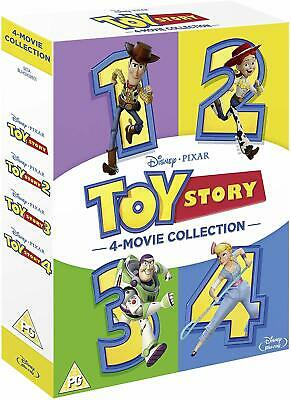 Toy Story Trilogy 1 2 3 Blu-Ray Box Set Disney Pixar BRAND NEW Free Shipping