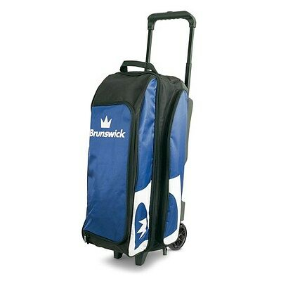 Brunswick Blitz Black/Royal 3 Ball Roller Bowling Bag